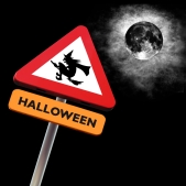 roadsign halloween